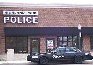 Highland Park Police headquarters