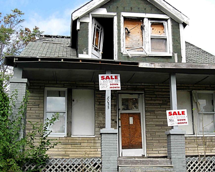 Abandoned Detroit - Houses