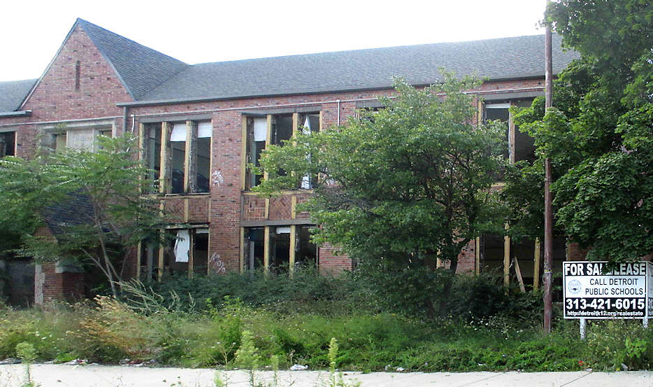 Devos policies lead to abandoned schools.